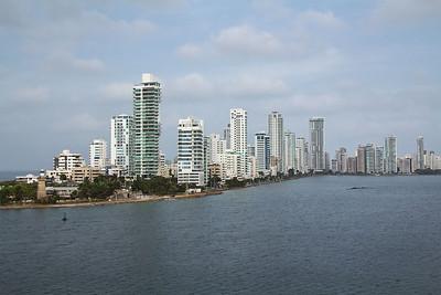 Panama Canal - Cartegena, Colombia